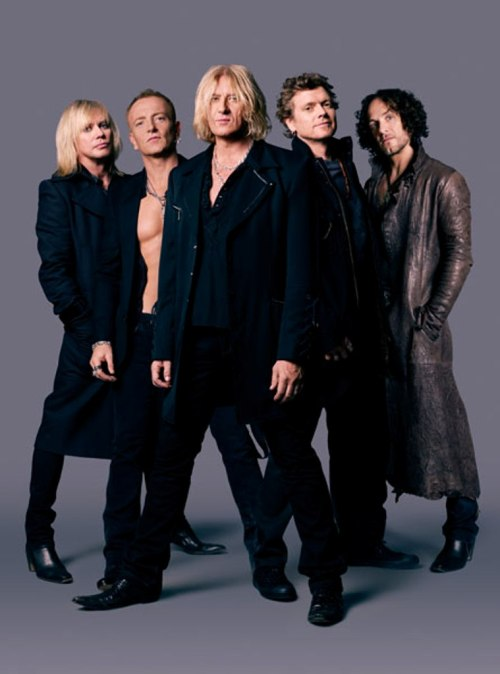 Def Leppard Early Formation Wallpaper
